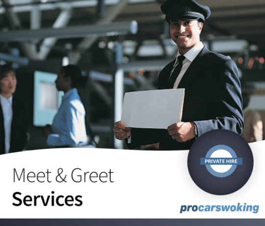 Pro Cars Woking - Meet & Greet Airport Transfers