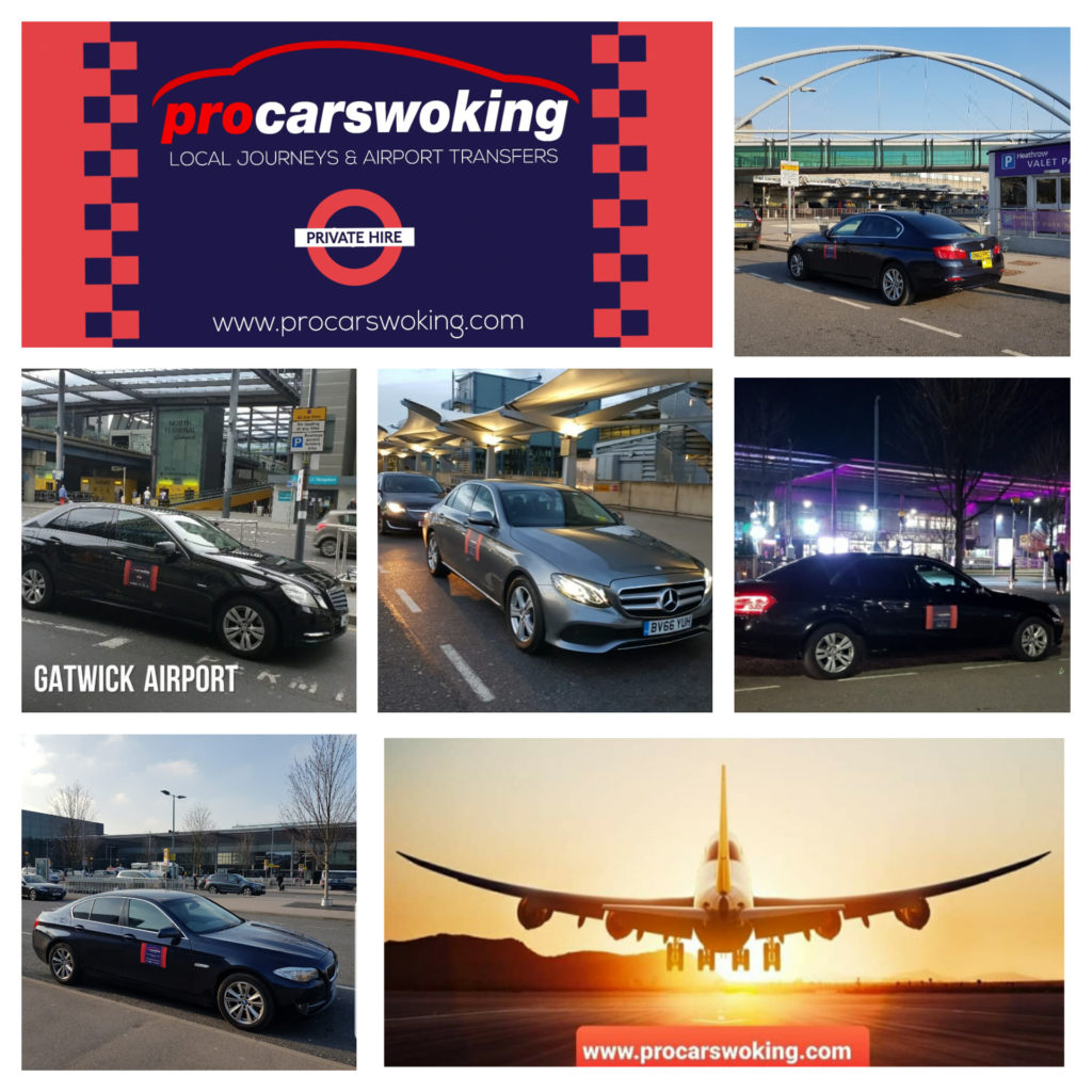 Woking Airport Taxi - Pro Cars Woking