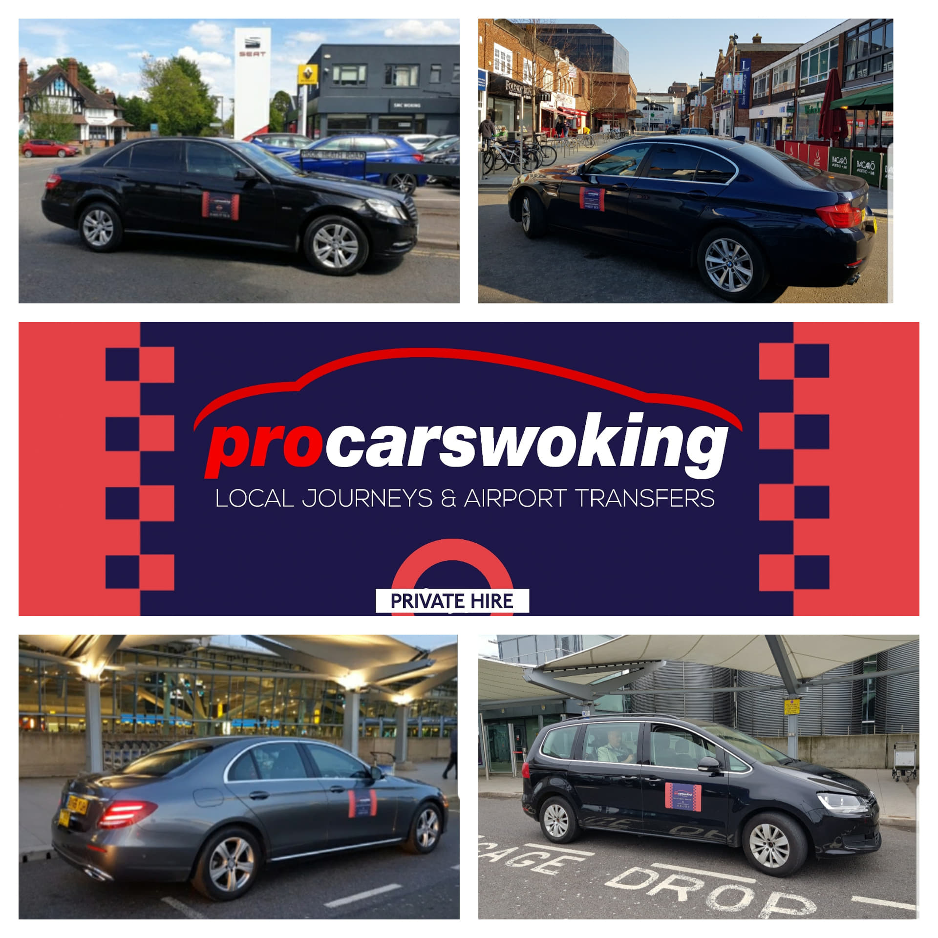 taxi to woking